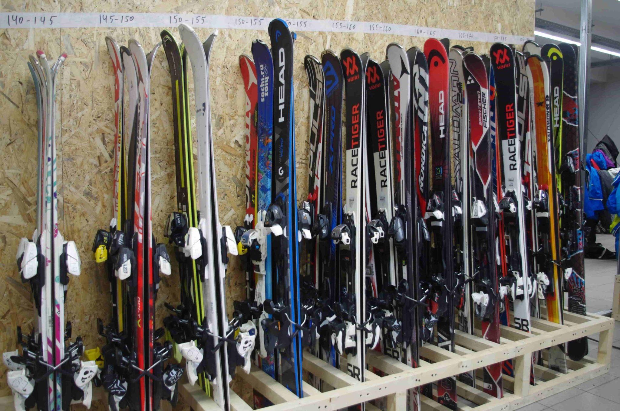 Виды катания на горных лыжах
