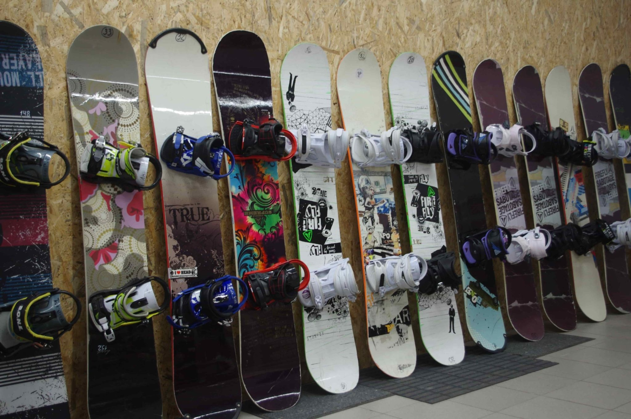 Виды катания на сноуборде